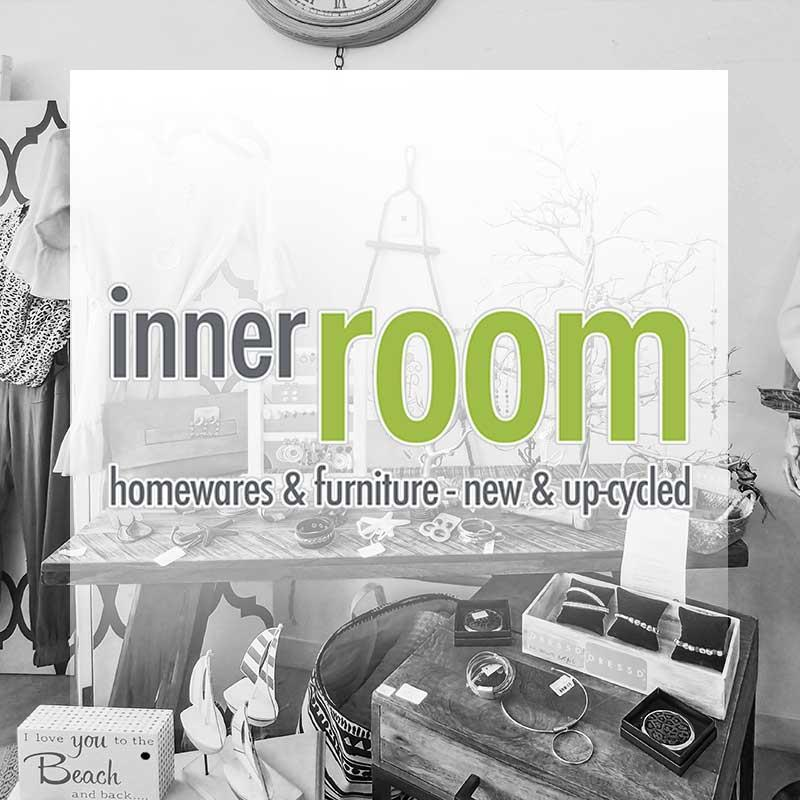 The Inner Room at Bongaree Village, a Bribie Island shopping centre, sells homewares and furniture