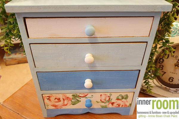 Inner Room Bribie Island Moreton Bay Queensland 4507 Homewares Gifts Womens Fashion Clothes Annie Sloan Chalk Paint Decor Mini Chest Of Drawers Set