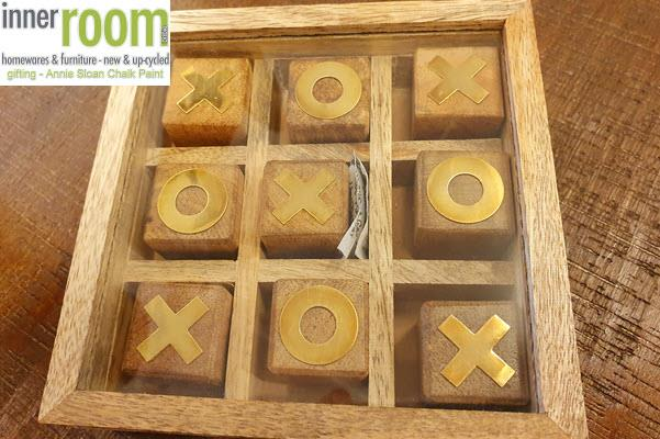 Inner Room Bribie Island QLD 4507 Homewares Giftware Wooden Naughts And Crosses Boxed Set