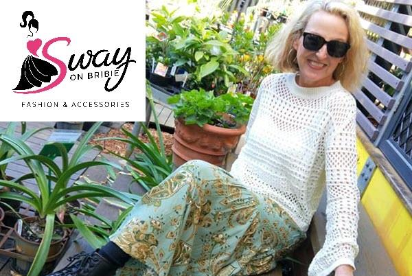 Sway On Bribie Island womens fashion clothing for Fathers Day events 2019
