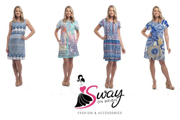 Popular Orientique ladies clothes on sale at Sway on Bribie Island